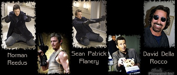 David Della Rocco Wallpapers Sean Patrick Flanery Norman Reedus and David Della Rocco for